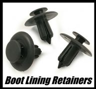 10x Boot / Trunk Lining Retainer, Short Gray For Ford Mustang 5R3Z-54310D12-AAA